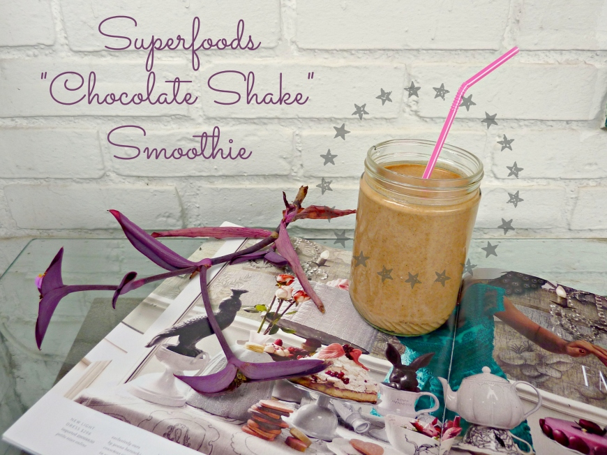 Superfoods Chocolate Shake Smoothie