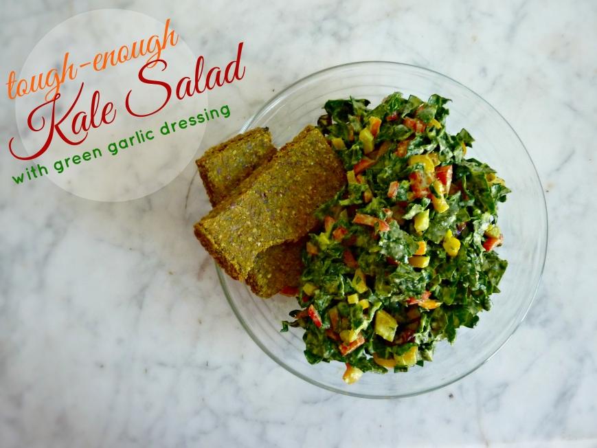 tough enough kale salad title pic