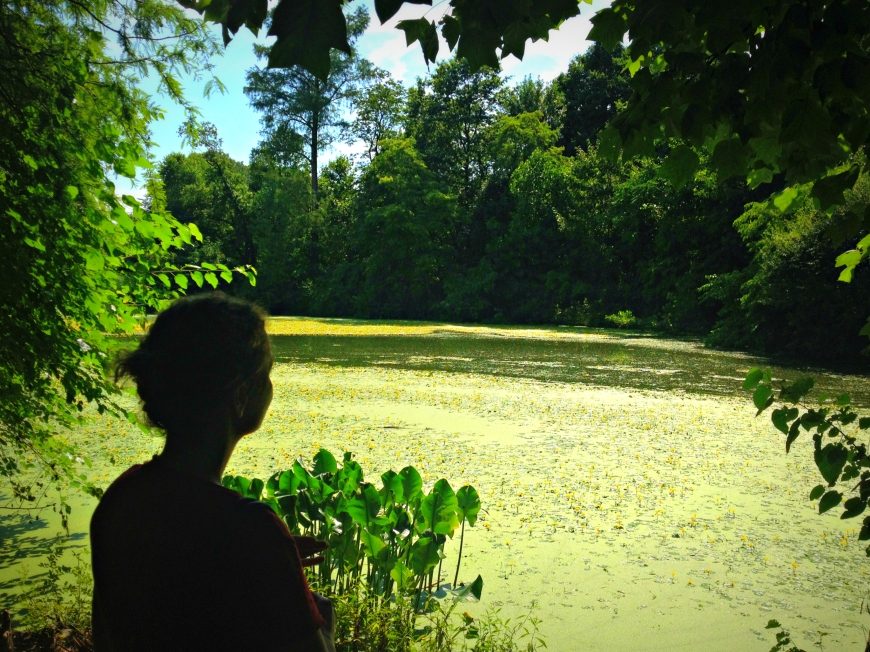 gazing at prospect park lake - mindbodyplate