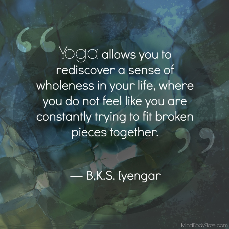 BKS Iyengar on yoga | MindBodyPlate