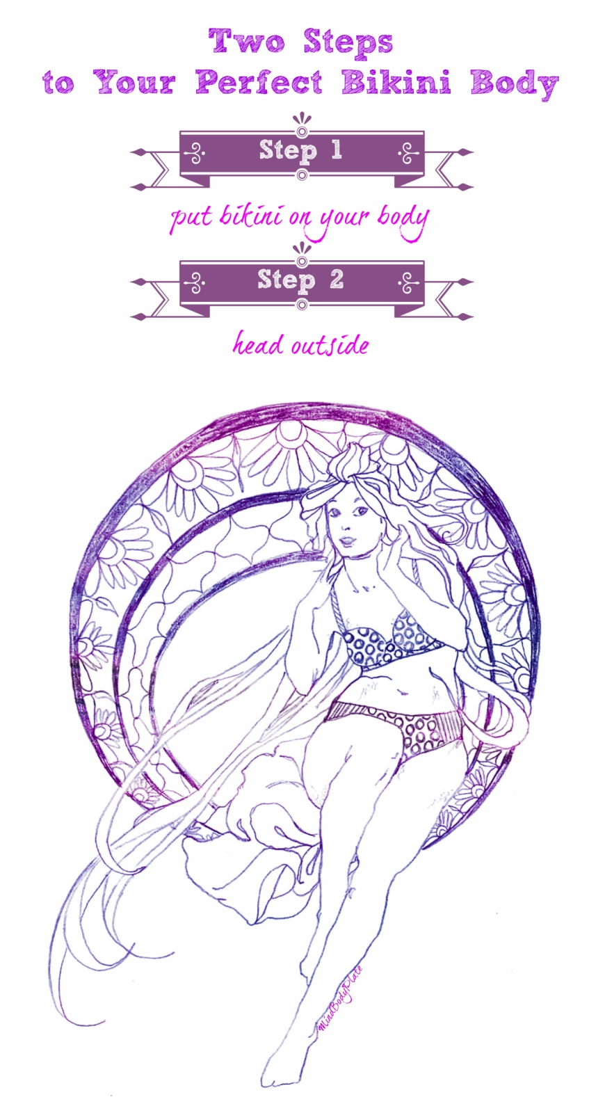 two step bikini body | Mucha | MindBodyPlate